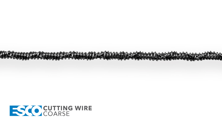 ESCO Abrasive Cutting Wire - Coarse