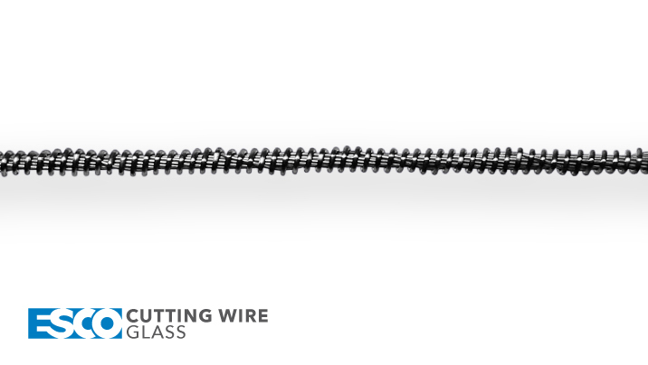 ESCO Abrasive Cutting Wire - Glass